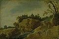 Esaias van de Velde - Rocky Landscape with a Castle - KMS3135 - Statens Museum for Kunst.jpg