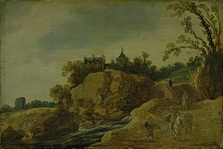 Rocky Landscape with a Castle