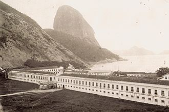 Urca - Military School of Praia Vermelha in 1888.
