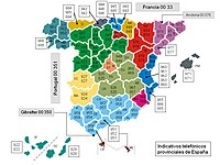 Valencia Ca Zip Code Map.Telephone Numbers In Spain Wikipedia