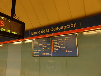 How to get to Barrio De La Concepción with public transit - About the place