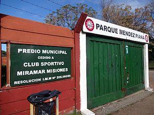 Parque Luis Méndez Piana - Image: Estadio Parque Luis Méndez Piana