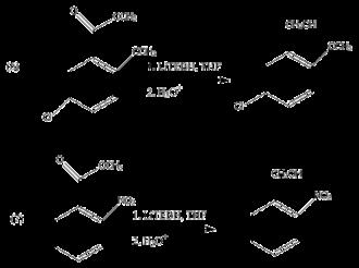 Lithium triethylborohydride - Image: Ester to alcohol