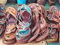 Ethnic sandles At Calangut shopping area - panoramio.jpg