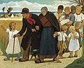 Eugène Laermans, La promenade en famille, 1916.jpg