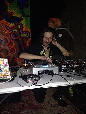 Eugene Hütz - Eugene Hütz DJing at Tropicalia in Washington, DC on December 28, 2013