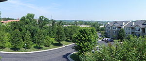Eureka, Missouri - Eureka from the south along Missouri Route 109