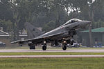 Eurofighter EF-2000 Typhoon S MM7280 (cn IS012) touchdown (22101609521).jpg