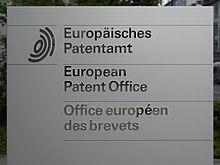 Ufficio Per Brevetti : Organizzazione europea dei brevetti wikipedia