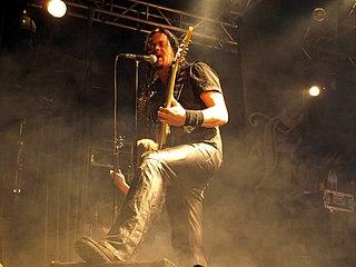 Tom S. Englund Swedish singer