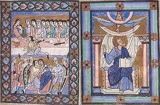 Kruszwica - The Gospel Book of Kruszwica (ca.1160) is considered among the most precious mediaeval manuscripts in Poland