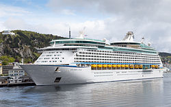 """Explorer of the Seas"" in Ålesund, NOR"