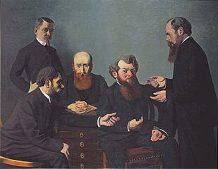 Les cinq peintres