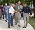 FEMA - 35632 - FEMA Administrator Paulison and elected officials in Iowa.jpg