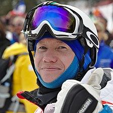 FIS Moguls World Cup 2015 Finals - Megève - 20150315 - Alexandr Smyshlyaev 3.jpg