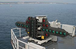 Landing optics of Charles de Gaulle