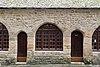 Façade ouest de la maison de la Truie-qui-file (Le Mont-Saint-Michel, Manche, France).jpg