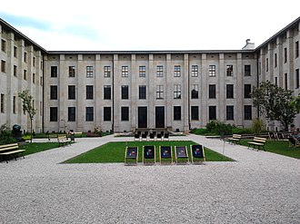 National Museum, Warsaw - Lorentz courtyard of the National Museum