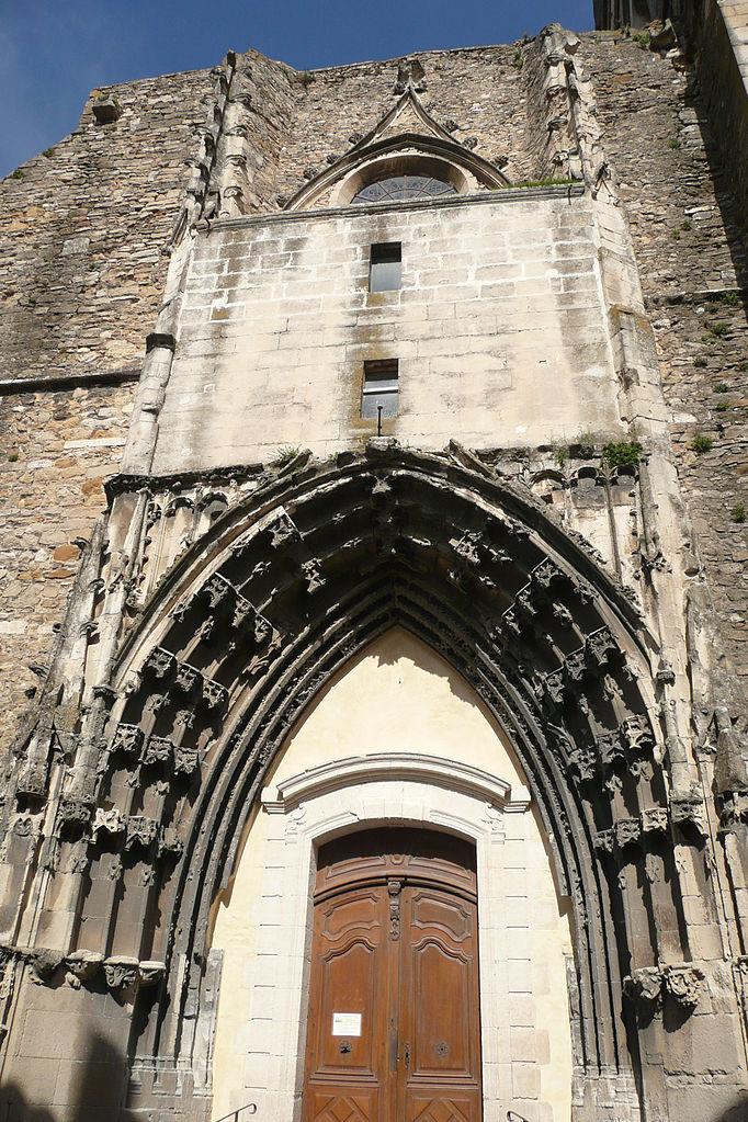 File facade de l 39 glise pont saint esprit jpg for L jardine pont saint esprit