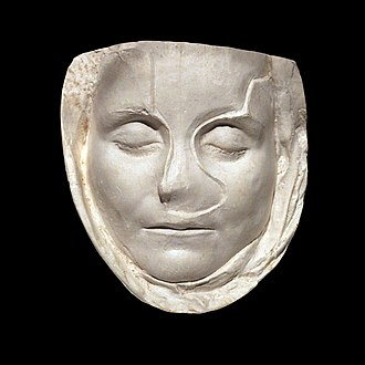 Verism - Roman funerary mask of a child