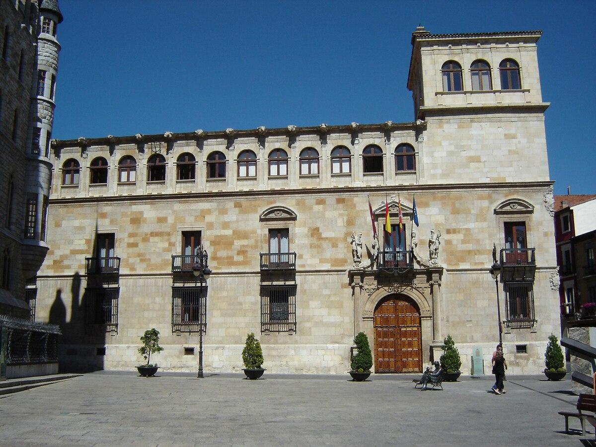 Palacio de los Guzmanes - Wikipedia, la enciclopedia libre