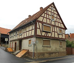 Magdalenengasse in Klingenberg am Main