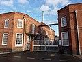 Factory gates, Thrumpton Lane - geograph.org.uk - 1638257.jpg