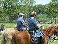 Fake Lee and fake Jackson surveying the fake battlefield - panoramio.jpg