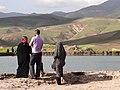 Family Views Crater Lake at Takht-e Soleiman - Western Iran (7421826704).jpg