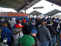 Fans Ride LIRR to Mets' 2014 Home Opener (13541648334).jpg
