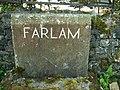 Farlam Parish marker stone - geograph.org.uk - 536827.jpg