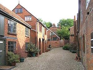 Farnham Pottery - Image: Farnham Pottery, Wrecclesham yard