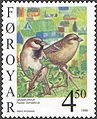 Faroe stamp 344 house sparrow (passer domesticus).jpg