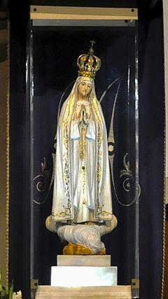 Znalezione obrazy dla zapytania matka boża fatimska