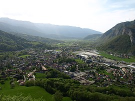 A general view of Faverges