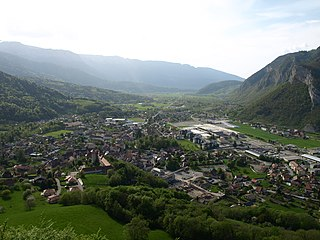 Faverges-Seythenex Commune in Auvergne-Rhône-Alpes, France