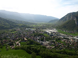 Faverges - A general view of Faverges