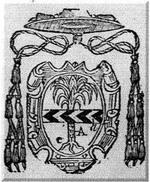 Fazio Giovanni Santori - Coat of arms of Cardinal Fazio Giovanni Santori