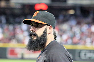 Brian Wilson (baseball) - Brian Wilson in September 2011