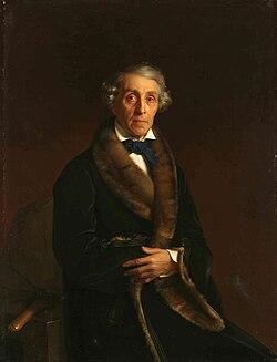 Портрет работы С. К. Зарянко, 1850