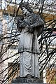 Fehérgyarmat, templomkerti Nepomuki Szent János-szobor 2021 06.jpg