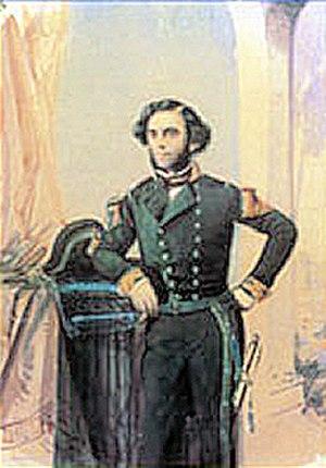 Félix du Temple de la Croix - Félix du Temple as a young Naval officer.