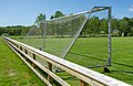 Fence and soccer goal in the north field in Brastad 1.jpg