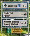 Ferlach Loibltal Sapotnica Wegweiser 07062016 3305.jpg