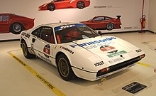 308 GTB Gr.4 by Michelotto at the Museo Ferrari