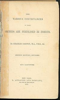 Fertilisation of Orchids cover