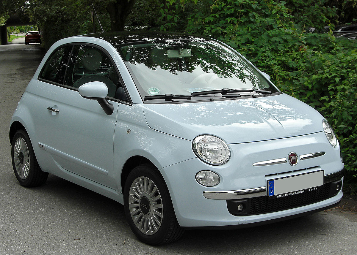 Ford Diesel For Sale >> Fiat 500 (2007) - Wikipedia