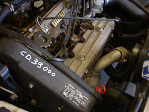 Fiat Twin Cam engine - Fiat CHT engine in a Croma