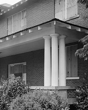 Chemawa Indian School - Hawley Hall porch