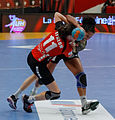 Finale de la coupe de ligue féminine de handball 2013 091.jpg